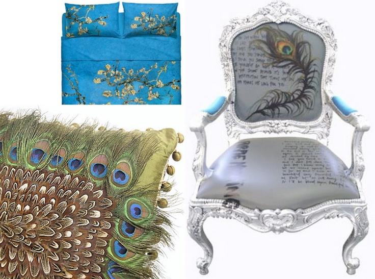 Peacock chair and prints  http://3.bp.blogspot.com/_mM9SSqIlMPA/TKCwak0igqI/AAAAAAAADi4/V3c33_NBgCE/s1600/u5FXE9.jpeg