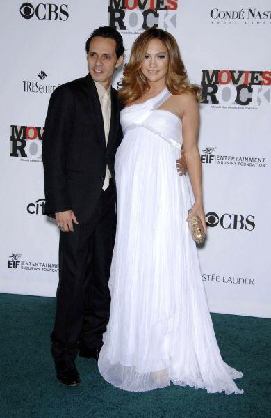 Vestidos de Fiesta para Embarazadas. Vestidos de Embarazadas de Hollywood. Jennifer Lopez.
