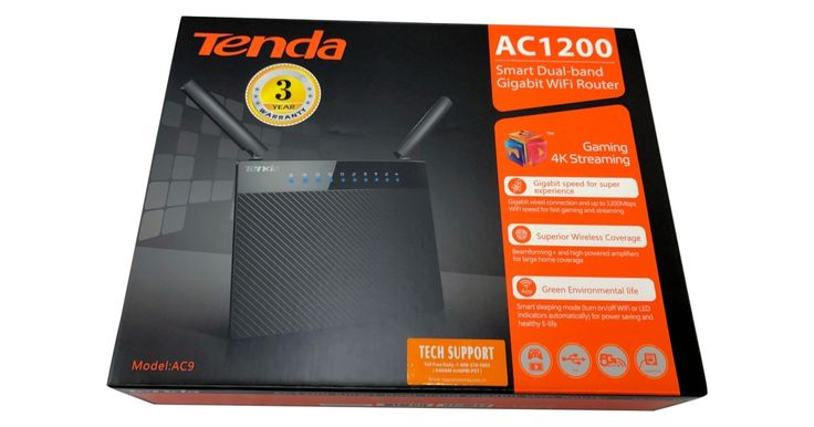 Tenda AC9 AC1200 Dual-Band Wireless Router Review
