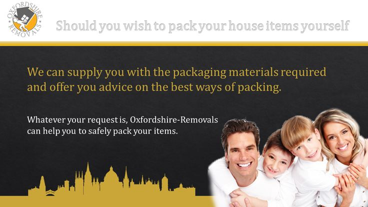 Should you wish to pack your house items yourself. We can supply you with the packaging materials required and offer you advice on the best ways of packing. Whatever your request is, Oxfordshire-Removals can help you to safely pack your items.