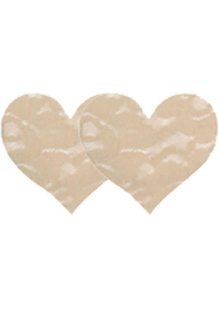 Buy Nude Lace Heart - 2pk online cheap. SALE! $8.99