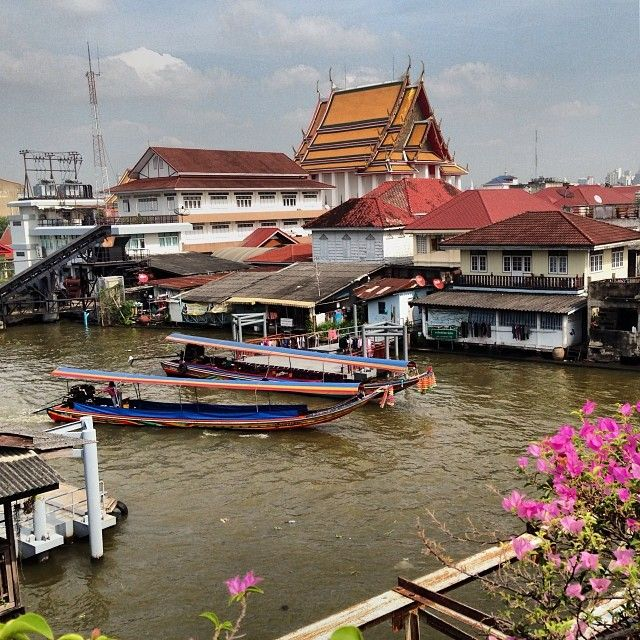 "Bangkok Noi Canal- Take a private boat trip through the canals of ""Bangkok Noi"" on the Thonburi side of the city. Visit the Amulet Market, selling wearable protection from evil spirits or bad fortune."