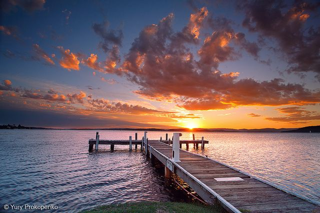 Sunset @ Lake Macquarie, Australia