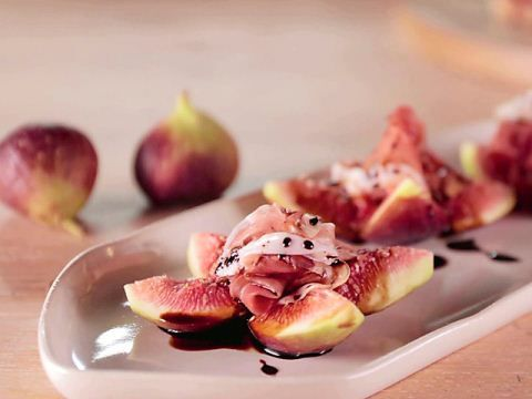 Prosciutto and Figs for a quick appetizer!