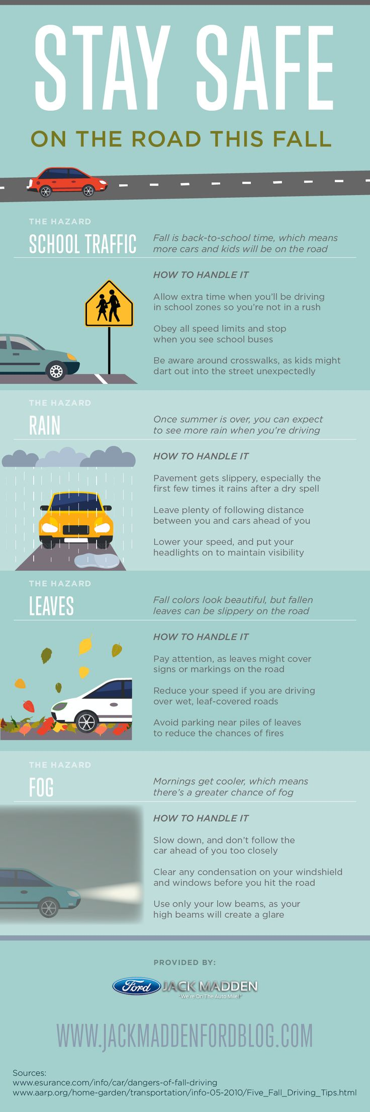 Car colour affects road safety - Stay Safe On The Road This Fall