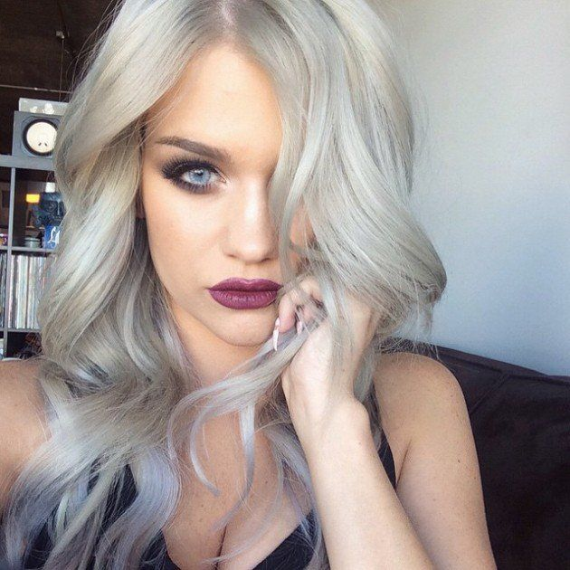the grey hair trend is huge for spring summer 2015 blonde