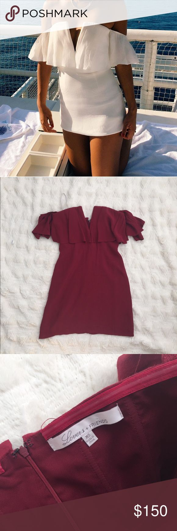 Bnwot lovers and friends red dress Brand new without tag Lovers + Friends Dresses