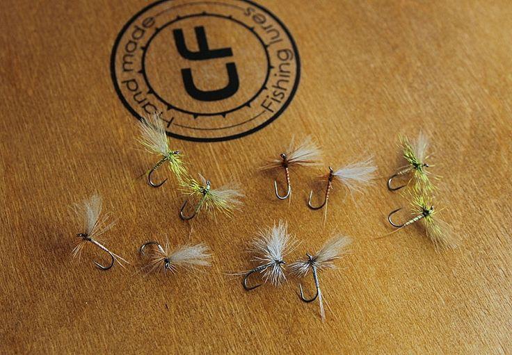 Zestaw przynęt muchowych - Jętki. #wędkarstwo #przynęty #flyfishing
