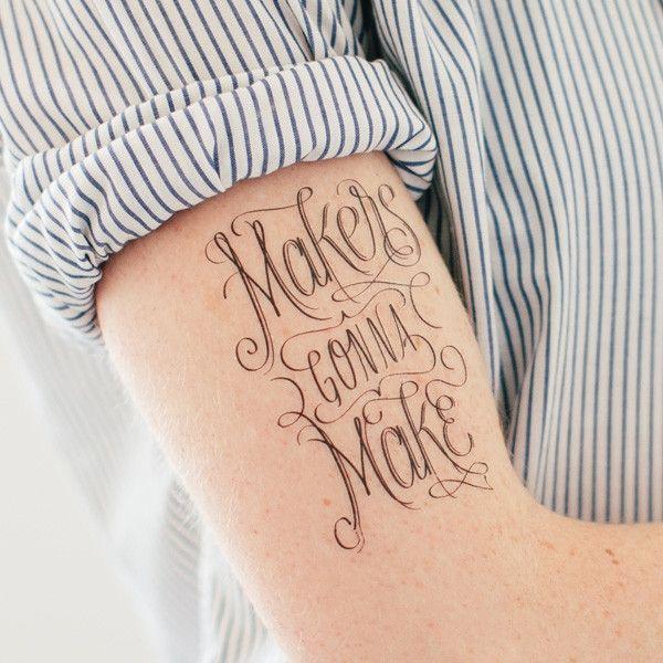 Временные татуировки со смыслом для девушек и парней - меняйся по настроению!