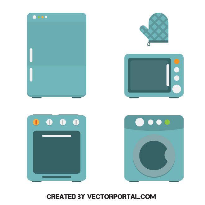 Kitchen Appliances Vector Image Kmart Home Kitchen Appliances Vector Free