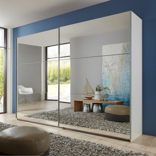 25 best ideas about porte coulissante miroir on pinterest for Armoire coulissante miroir