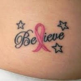 Breast Cancer Tattoo Designs And Meaning-Breast Cancer Tattoo Ideas And Pictures