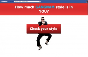Annoying Tagging Warm-up for Gangnam Style Scam Ball