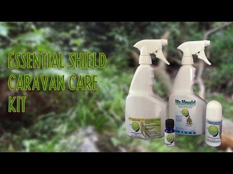 Essential Shield - Caravan Care Pack - Stop Mould, Smells, Ants