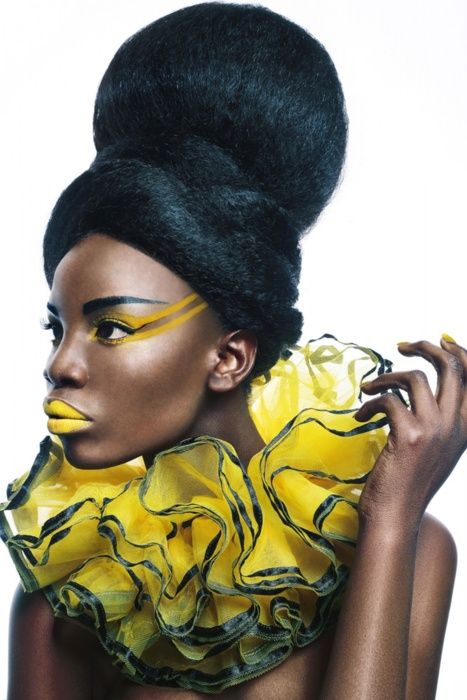 yellow hair style 1000 images about avant garde styles on updo 3634