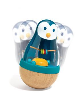 Baby :: Early development toys :: Djeco Roly Penguin