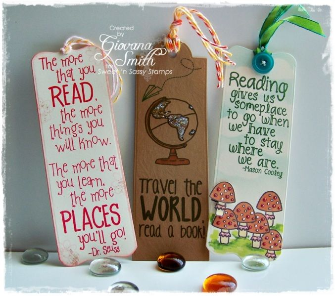 Bookmarks by giogio - Cards and Paper Crafts at Splitcoaststampers