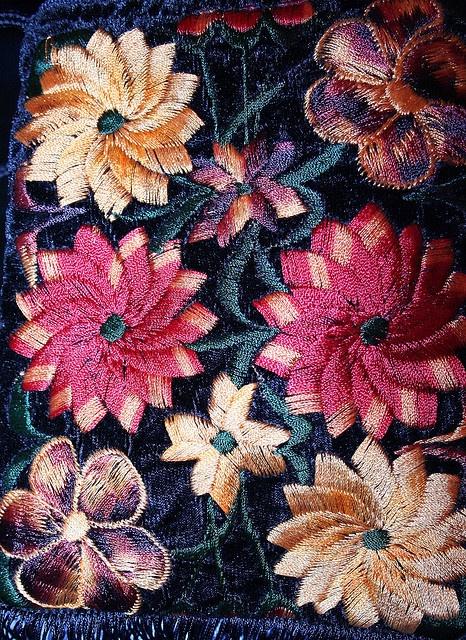 Guatamalan embroidery