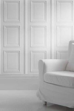 White Panelling by Young Battaglia - traditional - Wallpaper - South East - Rockett St George