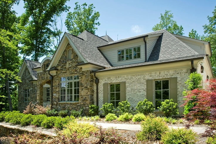 Love The Exterior With Brown Gutters My Dream Home Ideas