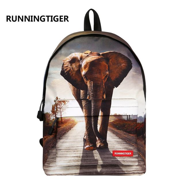 Check current price Runningtiger School Bags Animal Printing Backpack Laptop Backpack School Bags For Teenagers Mochila Escolar Mochila Masculina just only $15.30 with free shipping worldwide  #backpacksformen Plese click on picture to see our special price for you