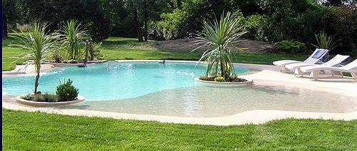 piscinas de arena paradisiacas