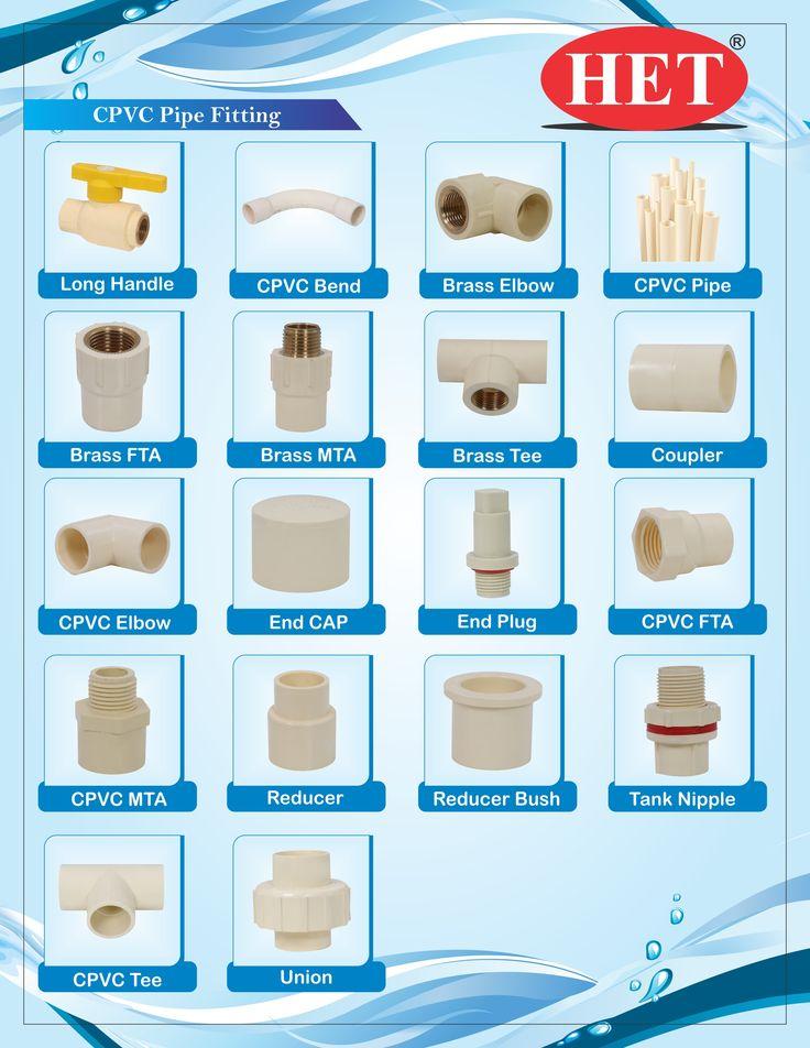CPVC Pipe Fittings - Ashok Plastic