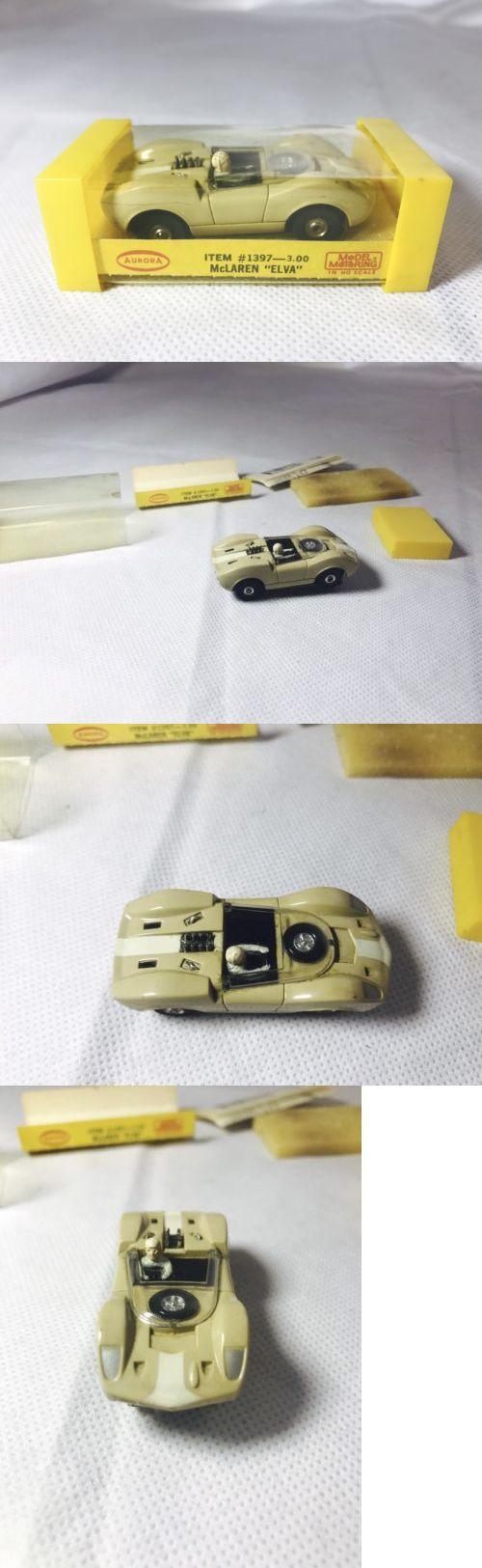 Pre 1970 2618 rare cream white aurora model motoring thunderjet 1397 mclaren elva