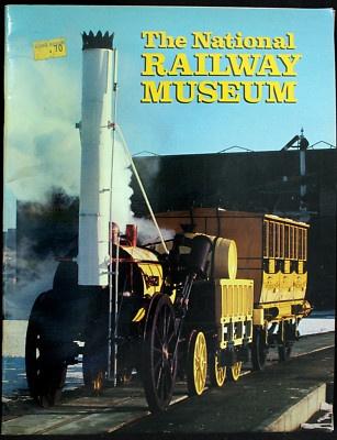 1982 NATIONAL RAILWAY MUSEUM GUIDEBOOK LONDON CHAS DI