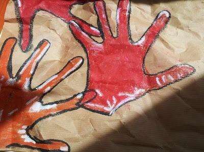 Pintando como nuestros antepasados