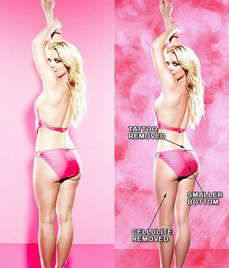 Britney Spears goes un-airbrushed for Candie's for Kohl's campaign | Catwalk Queen