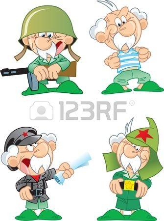 мультяшные картинки военных: 20 тыс изображений найдено в Яндекс.Картинках