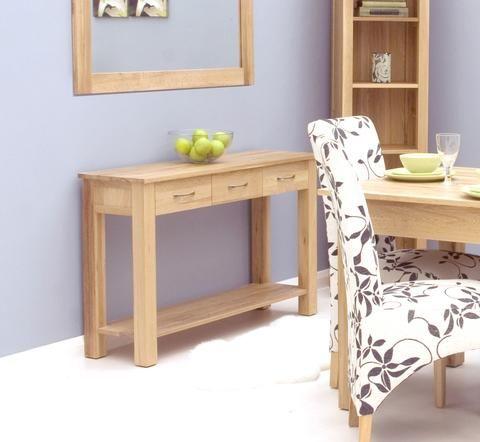 mobel solid oak reversible. mobel oak console table solid reversible