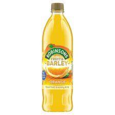 Robinsons Fruit And Barley Orange 1L