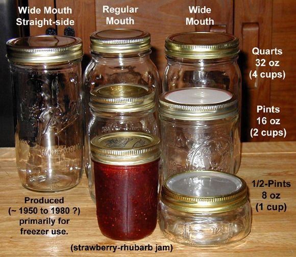 Canning Jar Sizes Canning Pinterest Sugaring Food