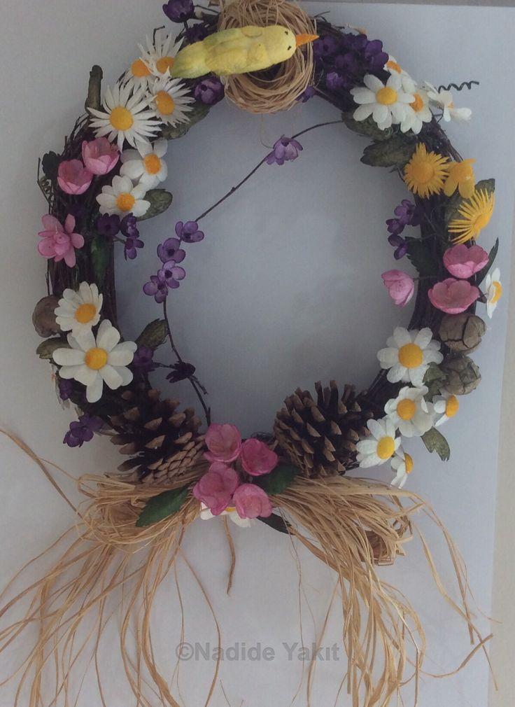 Koza işi / Silk Cocoon Flowers