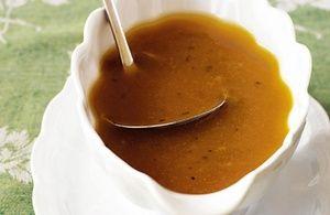 Gluten Free Turkey Gravy (from Roasted Turkey)  | G-Free Foodie #GlutenFree