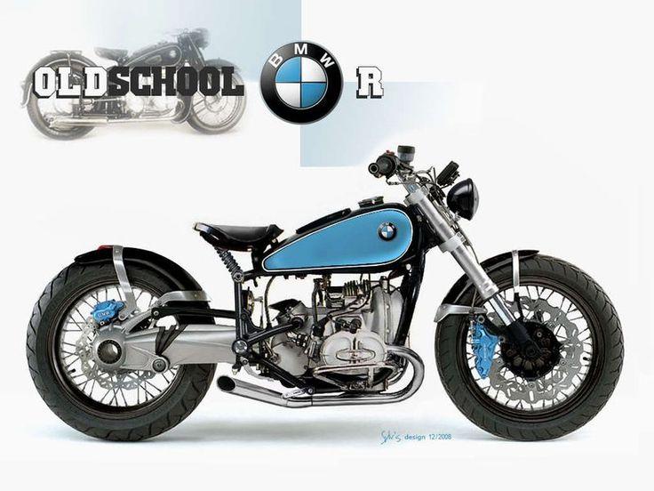 MOTORCYCLE 74: BMW oldschool Bobber