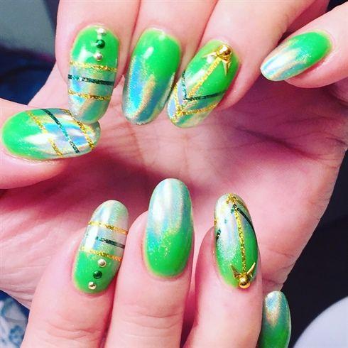 147 best St. Patrick\'s Day Nail Art images on Pinterest | St ...