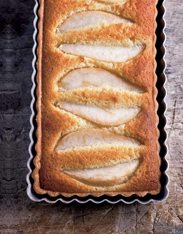 Pear Tart with Almonds Recipe