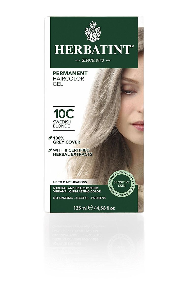 Herbatint Hair Color, 10C Swedish Blonde, 4 Fluid Ounce -- To view further, visit now : Natural Beauty Care