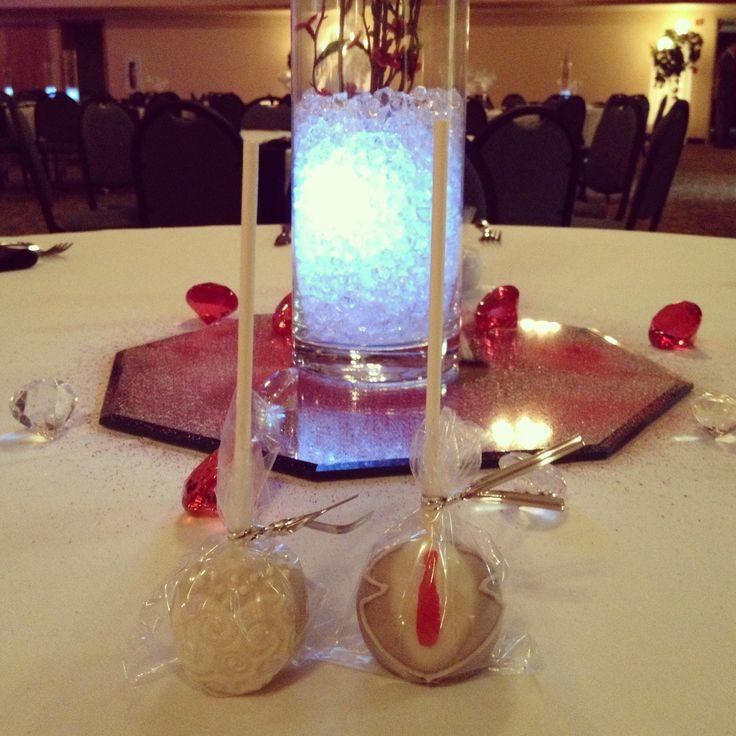 Cake Pop Centerpieces For Wedding