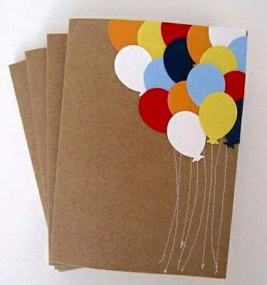 ideas para elaborar tarjetas con papel