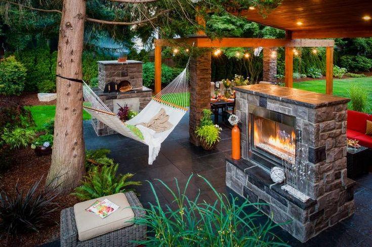 Gartenkamin mit Grillfunktion und stilvollem Design | Garten ...