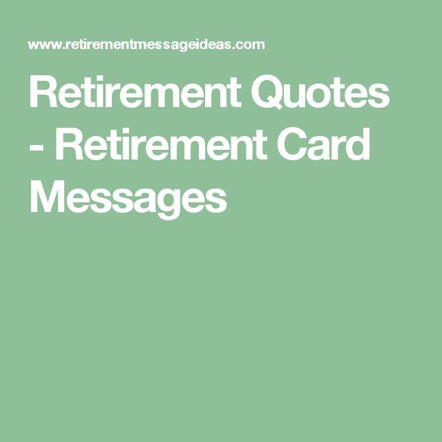 Funny Retirement Wishes Quotes: 25+ Unique Retirement Card Messages Ideas On Pinterest