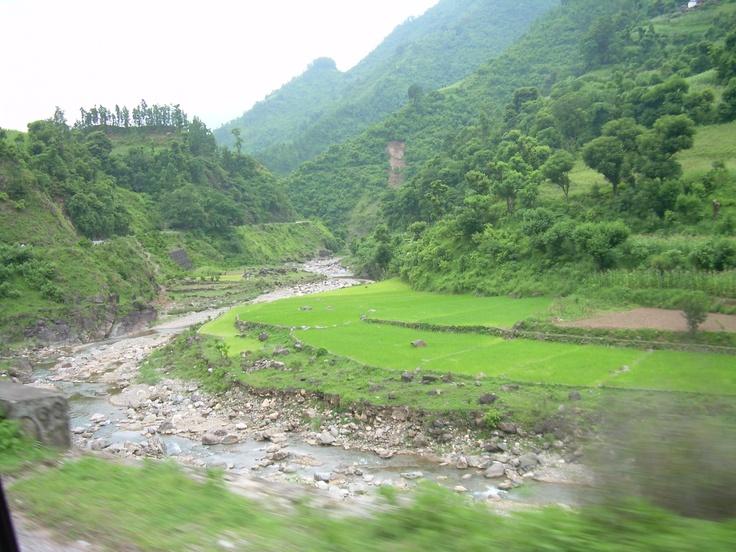 Landscape in Nepal