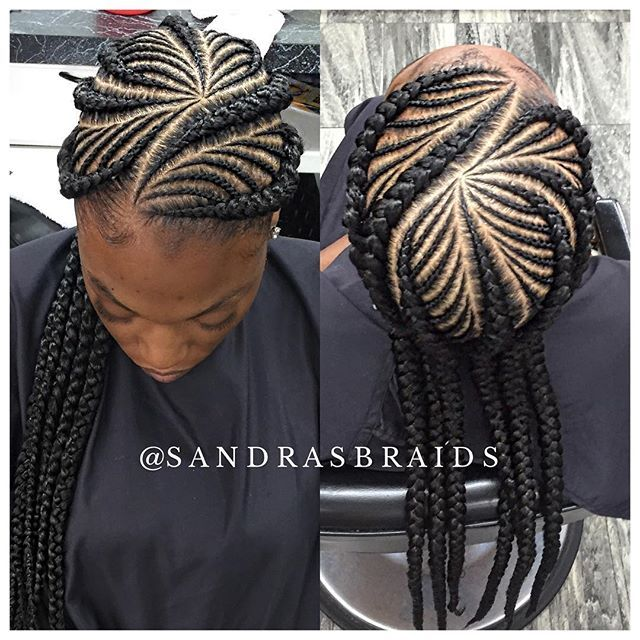 Fishbone feed-in braids #braider #houstonbraider #braidstyles #braid #braidideas #houstonhairstylist #ghanabraids #cornrows