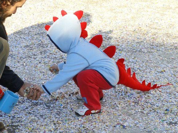 Idee di Carnevale: il costume da dinosauro