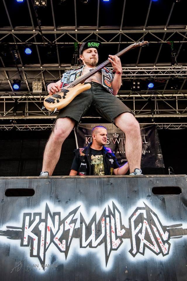 KINGS WILL FALL - live (South-Tyrol, Italy) .: THRASH METAL :. https://www.facebook.com/kings.will.fall.metal/