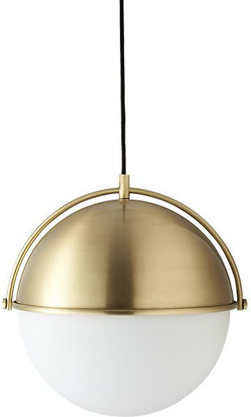 Globe Pendant Light   CB2. 17 Best images about Lighting on Pinterest   Sputnik chandelier